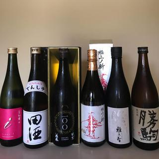 幻の銘酒セット 幻舞 田酒 花泉 赤武 作 勝駒 入手困難酒 6本 720ml (日本酒)