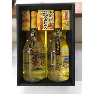 菊正宗 純金箔入り屏風絵セット(日本酒)