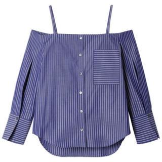 ルシェルブルー(LE CIEL BLEU)のルシェルブルー ストライプシャツ(シャツ/ブラウス(半袖/袖なし))