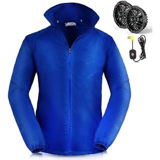 空調服 薄手 作業服 作業着 ファン付き 通気良い 速乾 熱中症対策 高強度生地(その他)