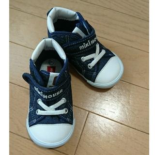mikihouse - 美品 ミキハウス mikihouse スニーカー 靴 14.5cm
