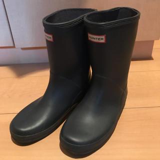 ハンター(HUNTER)のHUNTER ハンターレインブーツkids EU33 UK1(長靴/レインシューズ)