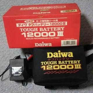 ダイワ(DAIWA)の電動リール用 ダイワ タフバッテリー  12000 Ⅲ (リール)
