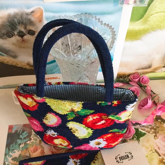 FEILER(フェイラー)のフェイラー トートバックセット レディースのファッション小物(ハンカチ)の商品写真