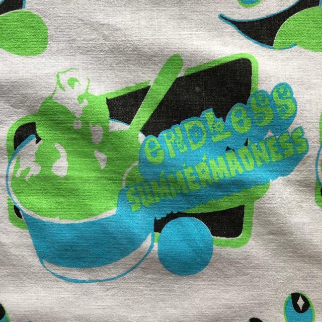 A BATHING APE(アベイシングエイプ)のバンダナ ENDLESS SUMMERMADNESS スケシン CE  メンズのファッション小物(バンダナ/スカーフ)の商品写真