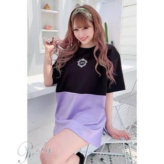レディー(Rady)のRady☆バイカラーTシャツ(Tシャツ(半袖/袖なし))
