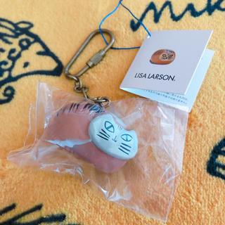 リサラーソン(Lisa Larson)のリサラーソン キーホルダーリラズー 丸猫(キーホルダー)