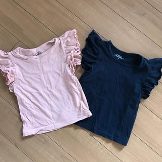 ニシマツヤ(西松屋)のTシャツ2枚(Tシャツ)