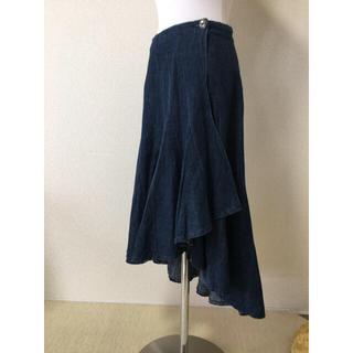 ロイスクレヨン(Lois CRAYON)のロイスクレヨン 巻きスカート デニム(ロングスカート)