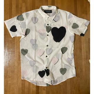 ミルクボーイ(MILKBOY)のミルクボーイ ハートプリント柄シャツハートポケットケイティメリージェニーMILK(Tシャツ(半袖/袖なし))