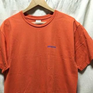 patagonia - patagonia パタゴニア Tシャツ オレンジ M