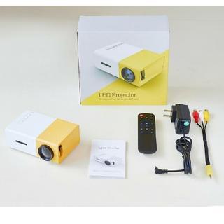 LED 超小型プロジェクター リチウムバッテリー内蔵 [dici YG300]