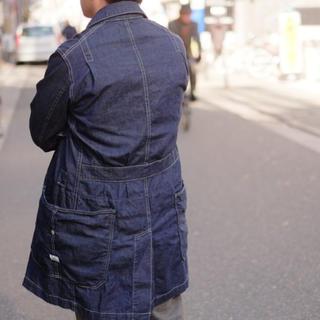 ササフラス(SASSAFRAS)の ササフラス SASSAFRAS : whole leaf coat(カバーオール)