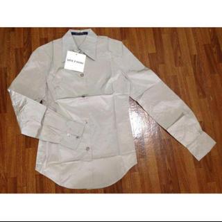 Drawer - ●SOFIE D'HOORE ソフィードール●シルクシャツ 36 MASTIC