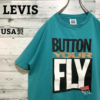 Levi's - 【レア】リーバイス LEVIS☆USA製 ビッグロゴ 半袖Tシャツ
