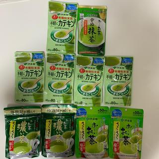 イトウエン(伊藤園)のお茶粉末10点セット(茶)