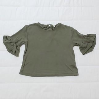 ニシマツヤ(西松屋)の【キッズ】西松屋 フリルスリーブ トップス Tシャツ 80cm 女の子 春夏秋(Tシャツ)