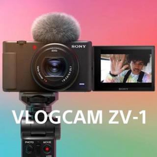 SONY - Vlog用カメラ VLOGCAM シューティンググリップキット ZV-1G