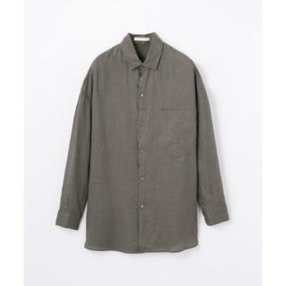 トゥモローランド(TOMORROWLAND)の新品未使用・GALERIE VIEのリネンシャツ(シャツ/ブラウス(長袖/七分))