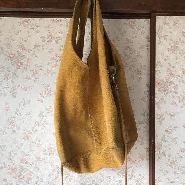 nano・universe(ナノユニバース)のポップコーン トートバッグ イタリア製 レディースのバッグ(ショルダーバッグ)の商品写真