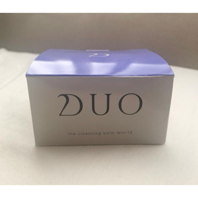 DUO クレンジングバーム ホワイト 90g コスメ/美容のスキンケア/基礎化粧品(クレンジング/メイク落とし)の商品写真