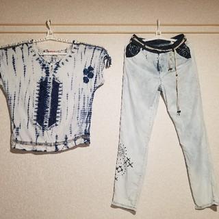 デシグアル(DESIGUAL)のツッキー様限定 デシグアル上下(Tシャツ(半袖/袖なし))