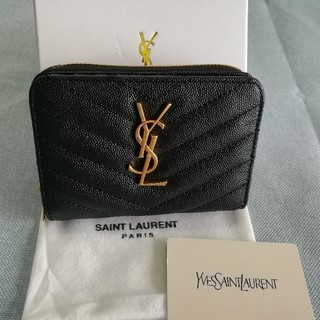 Yves Saint Laurent Beaute - 人気品美品! YSL 折り財布