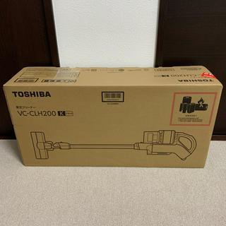 東芝 - 【新品未使用】TOSHIBA コードレスクリーナー VC-CLH200
