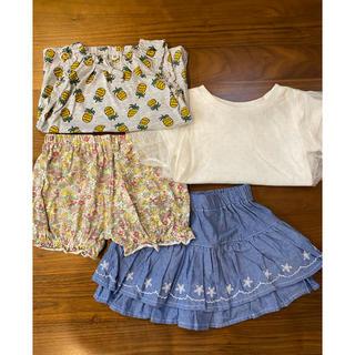 ニシマツヤ(西松屋)の西松屋 タンクトップ Tシャツ キュロット パンツ(Tシャツ)