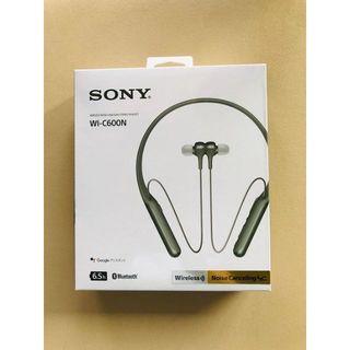 SONY - ★新品・未開封★ SONY Bluetooth イヤホンWI-C600N