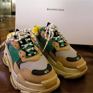 バレンシアガ(Balenciaga)の【Balenciaga】triples(triple s トリプルS) 40(スニーカー)
