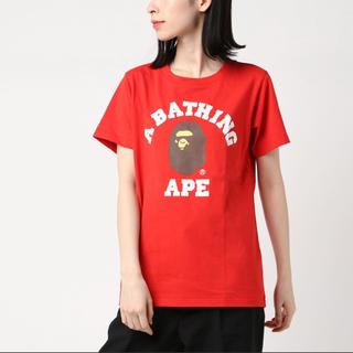 アベイシングエイプ(A BATHING APE)のA BATHING APE college tee(Tシャツ(半袖/袖なし))