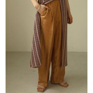 トゥデイフル(TODAYFUL)のTODAYFUL    Delave Linen Trousers(カジュアルパンツ)