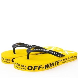 オフホワイト(OFF-WHITE)の新品 OFF-WHITE スリッパ 26cm(スリッポン/モカシン)