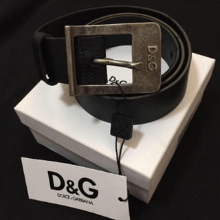 ディーアンドジー(D&G)の新品未使用 D&G ベルト メンズ(ベルト)