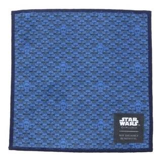 ディズニー(Disney)のタケオキクチ STAR WARS(スター・ウォーズ)ハンカチ ネイビー (ハンカチ/ポケットチーフ)