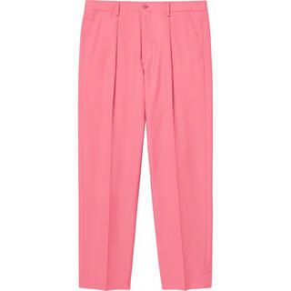 シュプリーム(Supreme)のsupreme pleated trouser 30 pink(スラックス)