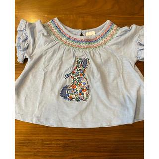 ネクスト(NEXT)のnext ネクスト うさぎさん Tシャツ 70(Tシャツ)