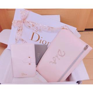 Dior - DIOR ディオール オリジナル ノート&ポーチ&ボックス メッセージカード4点