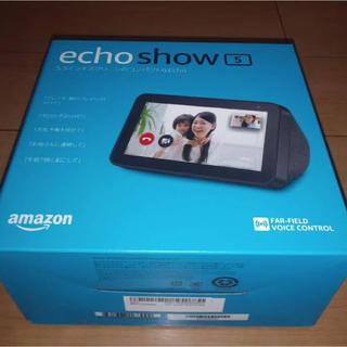 エコー(ECHO)のアマゾンエコー5 新品未開封(スピーカー)