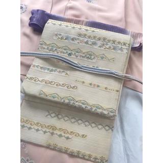 絽綴れ 高級袋帯 夏帯 大特価☆