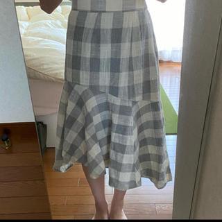 ローリーズファーム(LOWRYS FARM)のローリーズファーム♡スカート チェック (ひざ丈スカート)