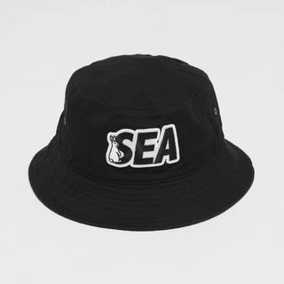 WIND AND SEA #FR2 Patch Bucket Hat ブラック