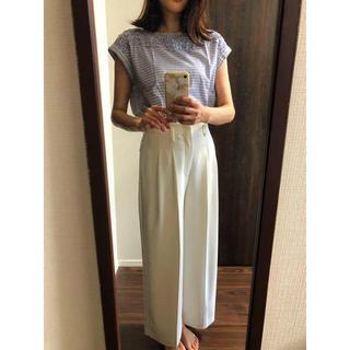 クチュールブローチ(Couture Brooch)のcouturebrooch  綿100%  ボーダートップス♪(カットソー(半袖/袖なし))