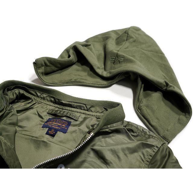 ALPHA INDUSTRIES(アルファインダストリーズ)のアルファインダストリーズ ★ XL ナサ L-2B ボンバージャケット MA-1 メンズのジャケット/アウター(フライトジャケット)の商品写真