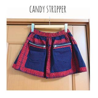 キャンディーストリッパー(Candy Stripper)のcandy stripper バンダナ柄ミニスカート(ミニスカート)