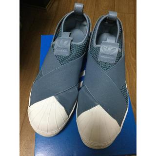 adidas - adidas スリップオン ローグレー 24cm