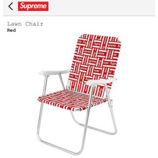 シュプリーム(Supreme)のSupreme Lawn Chair Red(折り畳みイス)