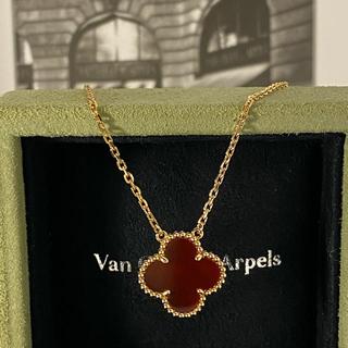 ヴァンクリーフアンドアーペル(Van Cleef & Arpels)の新品 ヴァンクリーフ&アーペル カーネリアン ネックレス(ネックレス)