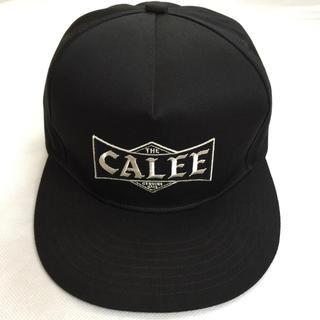 キャリー(CALEE)の定価7480円!Calee 19aw 完売人気 ロゴ刺繍 キャップ 帽子(キャップ)